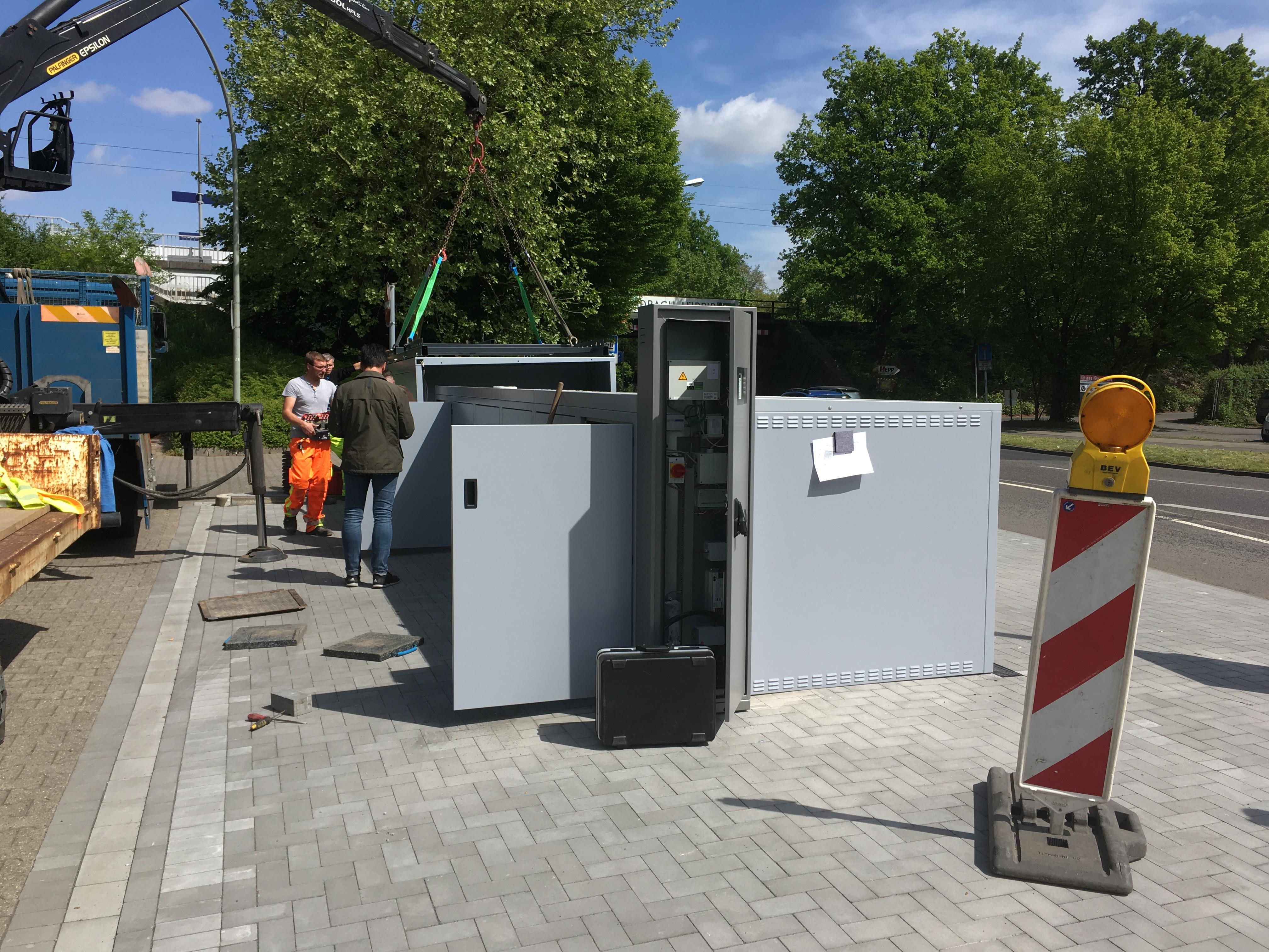 Mönchengladbach: DeinRadschloss-Boxen am Standort Lürrip – dein ...
